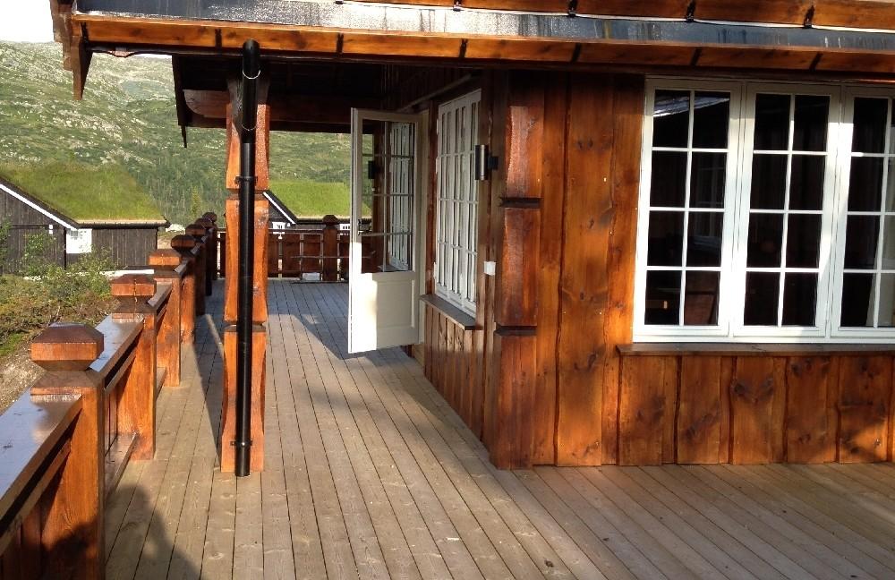 Drewniane Zielone Domy Skandynawskie  (7)