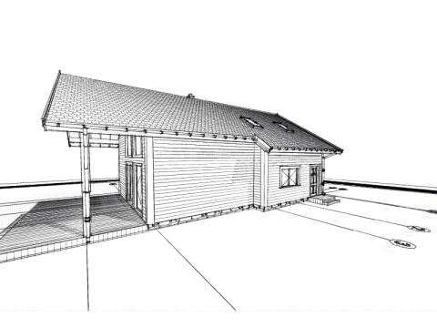 Drewniane Zielone Domy Projekt DZD 10-2